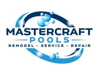 MasterCraft Pools logo design winner