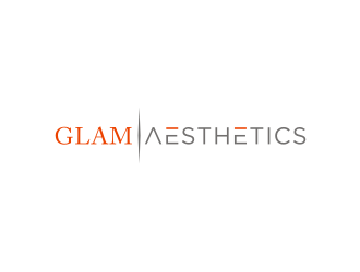 Glam Aesthetics logo design