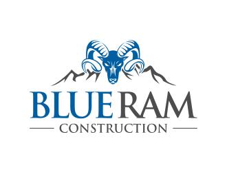 Blue Ram logo design