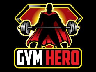 Gym Hero logo design