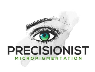 Precisionist Micropigmentation logo design