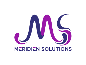 Meridien Solutions logo design winner