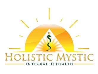 Holistic Mystic Integrated Health logo design winner