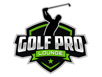 Golf Pro Lounge logo design