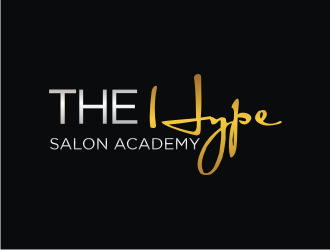 The Hype Salon Academy logo design