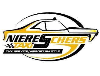 Niereschers Taxi logo design