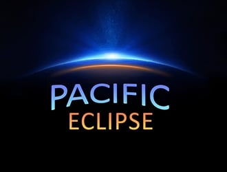 Pacific Eclipse logo design