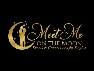 Meet Me on the Moon logo design winner