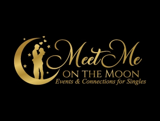 Meet Me on the Moon logo design