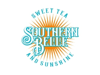 Southern Belle Sweet Tea and Sunshine logo design by b3no