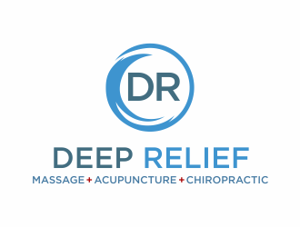 Deep Relief logo design