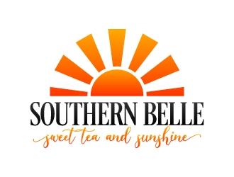 Southern Belle Sweet Tea and Sunshine logo design by karjen