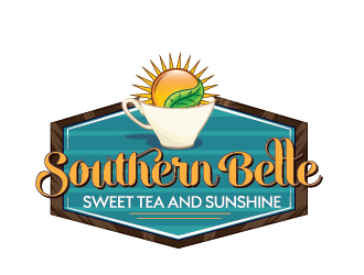 Southern Belle Sweet Tea and Sunshine logo design by SiliaD