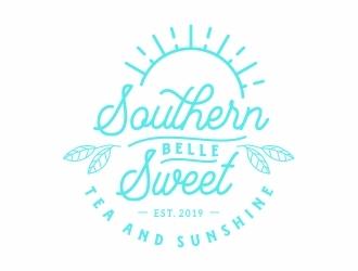 Southern Belle Sweet Tea and Sunshine logo design by Eko_Kurniawan