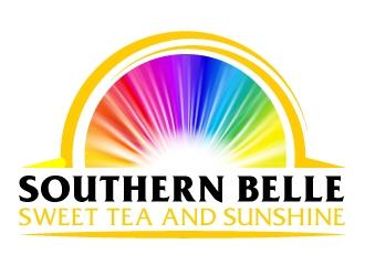 Southern Belle Sweet Tea and Sunshine logo design by AamirKhan