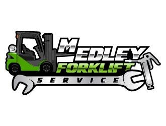 Medley Forklift Service logo design