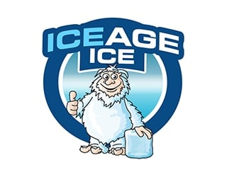ice age ice logo design