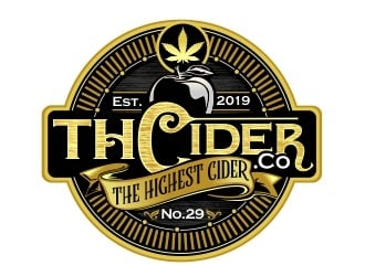 THCider Co. logo design