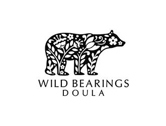 Wild Bearings Doula  logo design