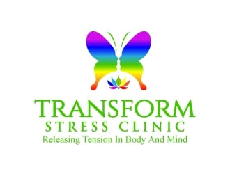 Transform Stress Clinic logo design winner