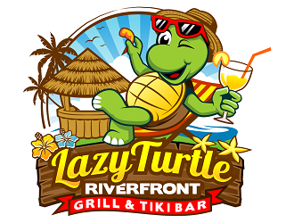 lazy turtle  logo design