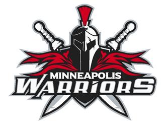 Minneapolis Warriors logo design