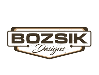 Carl Bozsik Customs  logo design winner