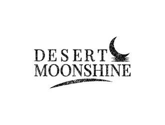 Desert Moonshine logo design
