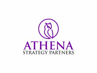 Athena Strategy Partners logo design