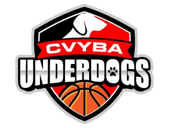 CVYBA UNDERDOGS logo design