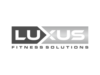 Luxus Fitness Solutions logo design