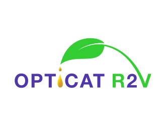 OptiCat R2V logo design winner