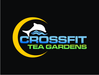 CrossFit Tea Gardens logo design