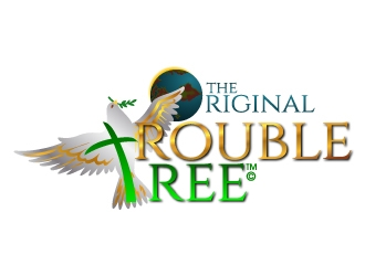 The Original Trouble Tree logo design winner