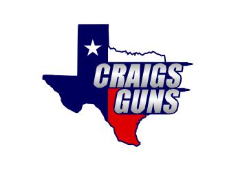 Craigs Guns logo design