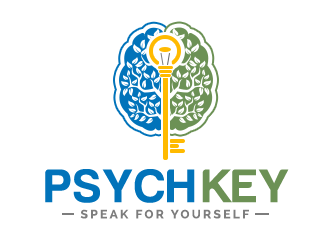 PsychKey logo design winner