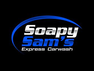 Soapy Sams logo design