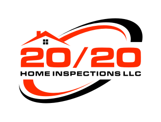 20/20 Home Inspections LLC logo design