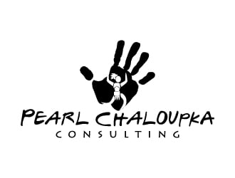 Pearl Chaloupka Consulting logo design