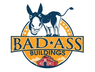 Bad Ass Buildings logo design