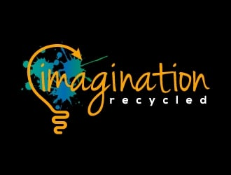 Imagination Recycled  logo design