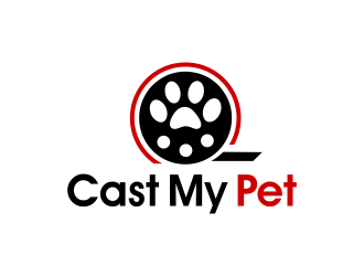 Cast My Pet logo design