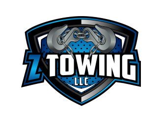 Z Towing LLC logo design