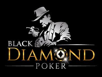 Black Diamond Poker logo design