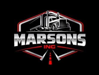 Marsons INC logo design