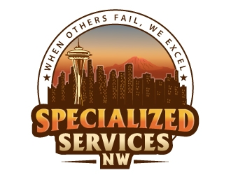 Specialized Services NW logo design