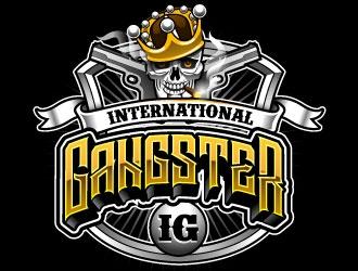 INTERNATIONAL GANGSTER logo design