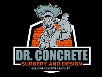 Dr. Concrete Surgery and Design logo design
