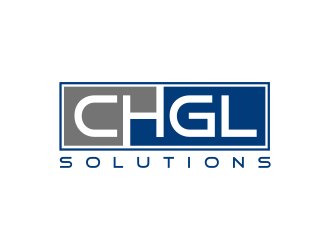 CHGL Solutions logo design