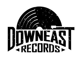 Downeast Records LLC logo design